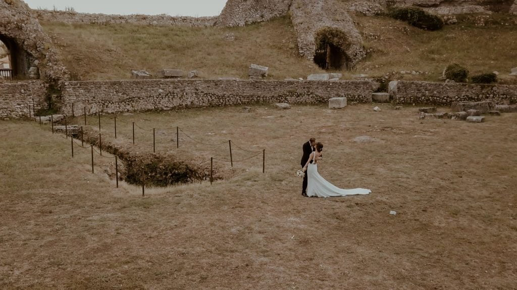 five unusual locations for a wedding in italy